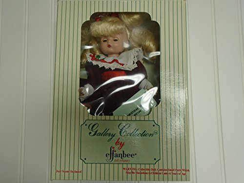 (Effanbee Gallery Collections Holiday of the Year Christmas 1994 MV144 Doll 9