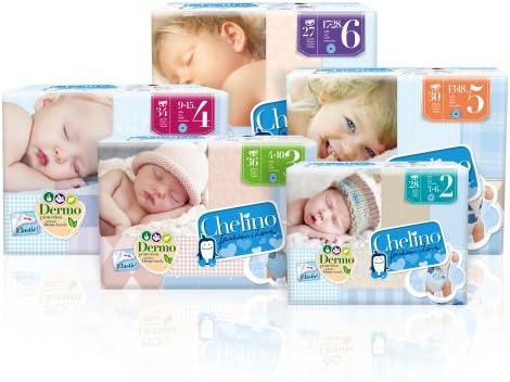Chelino Fashion & Love Junior - Pañal infantíl, talla 3 (4-10 kg), 36 pañales