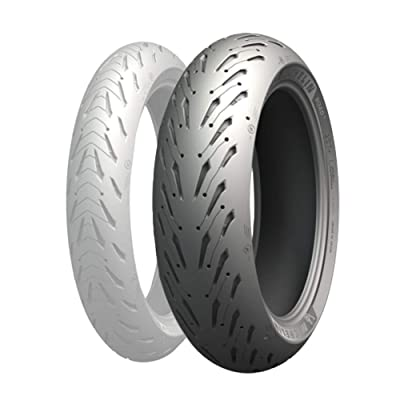 Michelin Road 5 Rear Tire (190/50ZR-17): Automotive