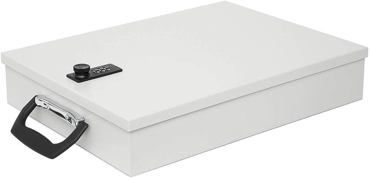 grigio ch con lucchetto a combinazione Cassetta documenti A4