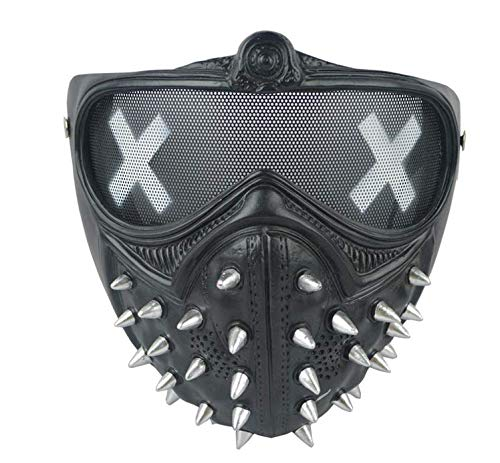 ZHOUXUELI Watchdog 2cosplay Wrench Mask Halloween Show Mask -
