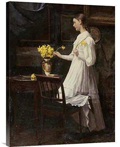 Arranging Daffodils - Global Gallery GCS-267390-30-142