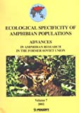 Ecological Specificity of Amphibian Populations 9789546421784