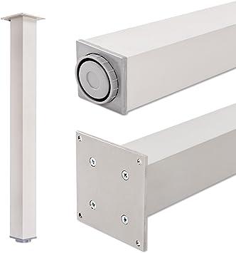 Pata extensibles de mesa, 100% aluminio | Sossai® Exclusivo E4TBAL ...
