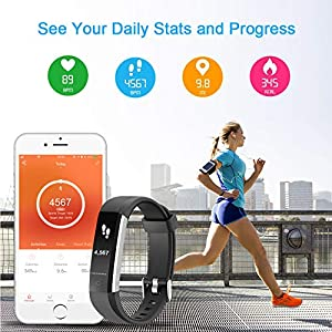 LETSCOM Fitness Tracker : Good Style, excellent customer sercice