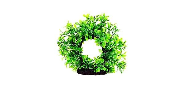 Piebo Pecera del Acuario Planta Criatura Acuario decoración Decoración Paisaje como un Regalo para un Amigo, el Anciano: Amazon.es: Jardín