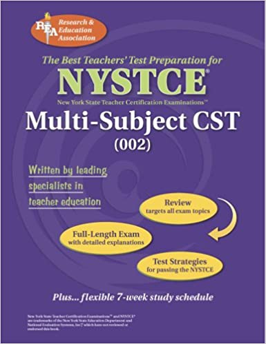 NYSTCE Multi-Subject CST (NYSTCE Teacher Certification Test Prep ...