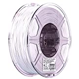 eSUN 1.75mm Cool White PLA PRO (PLA+) 3D Printer Filament 1KG Spool (2.2lbs), Cool White