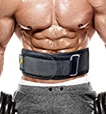 PeoBeo Weight Lifting Belt for Heavy Lifting Workouts | 6 Inch Power Weight Lifting Belt for Men and Women Fitness, Size M