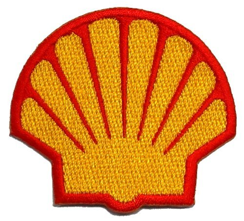 """2.1"""" x 2.3""""Shell Sponsor Motorsport Racing DIY Embroidered for sale  Delivered anywhere in USA"""