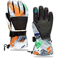 Minsky Waterproof Touchscreen Winter Ski & Snowboard Gloves