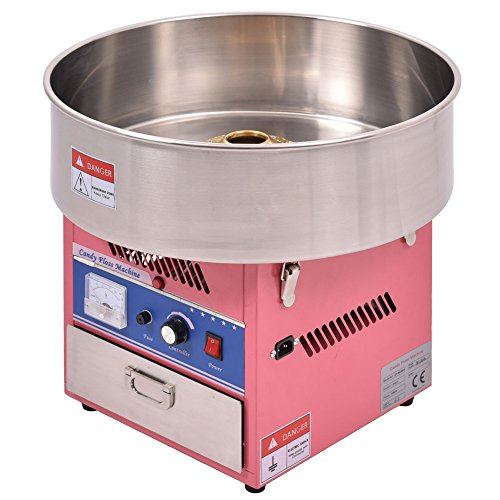 LTL Shop Electric Cotton Candy Machine Floss Maker Commercial Carnival Party Pink ()