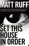 img - for Set This House in Order book / textbook / text book