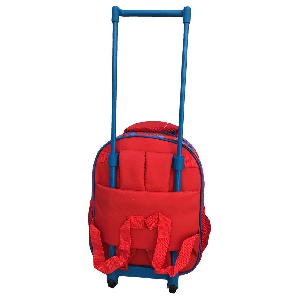 MC Sac /à Dos Trolley Digit Premium Spiderman pour Enfants 30 cm Rouge//Bleu