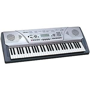 Medeli M12 - Teclado MIDI (Botones, DC, LCD)