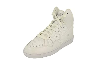 new arrival 27256 3f541 Nike Women s s WMNS Son of Force Mid Basketball Shoes White Wolf Grey 110,  ...