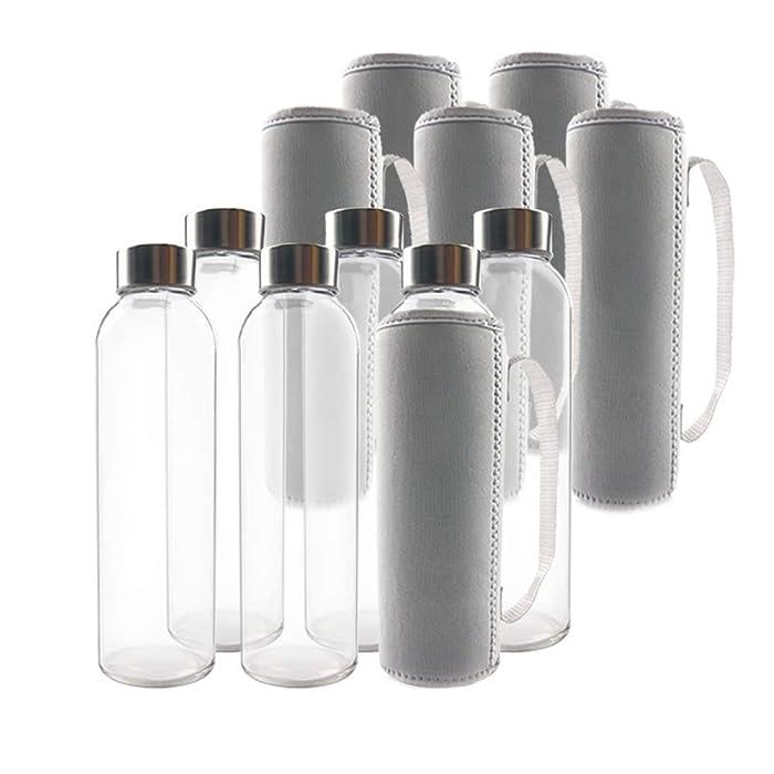 Updated 2021 – Top 10 Glass Beverage Bottles Screw On Cap