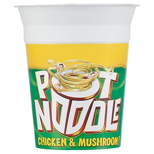 Pot Noodle Chicken & Mushroom Flavour (90g) - Pack of 6