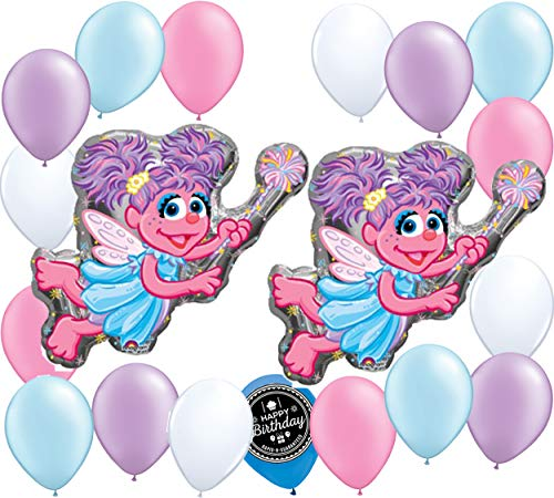 - Sesame Street Abby Cadabby Balloon Wall Decoration Bundle