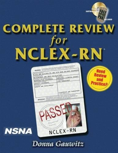 Complete Review for NCLEX-RN (Test Preparation)