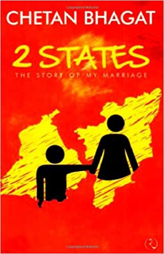 Image result for 2 states book by chetan bhagat