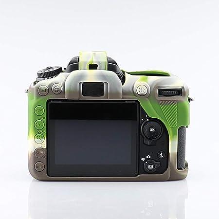 Webla Cubierta protectora de la cámara para silicona Nikon D7500 ...