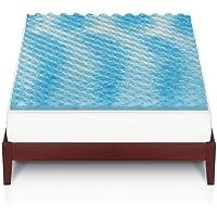 The Big One 1 1/2-in. Gel Memory Foam Mattress Topper (King Bed)