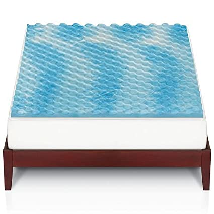 bedding mattress gel reviews foam memory swirl dreamfoam topper review rsz