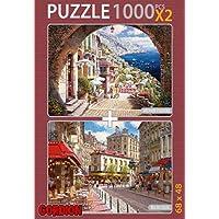 Archway Positano Reu Du Soleil 2x1000 Parça Puzzle