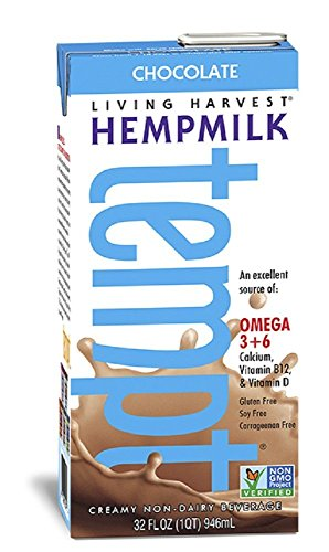 Living Harvest Tempt Hemp Milk - Chocolate - 32 oz
