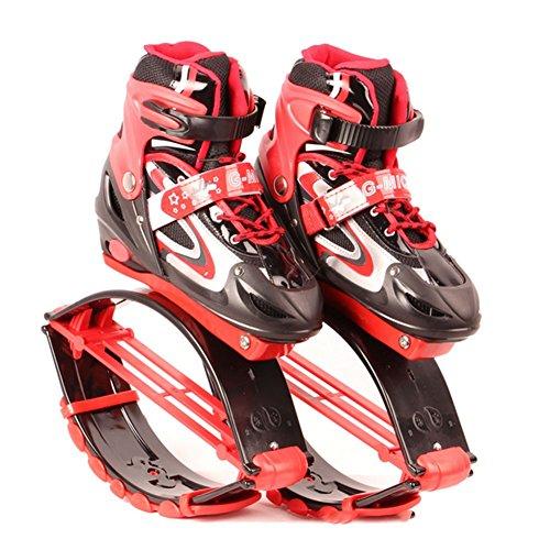 Poids Sautant Charge De La Kangoo Oofay L'exercice Jumps Enfants Les Chaussures Taps Rebondissent Chaîne Physique Rebound Red Pilotent 50kg 30 Forme w00qaTB