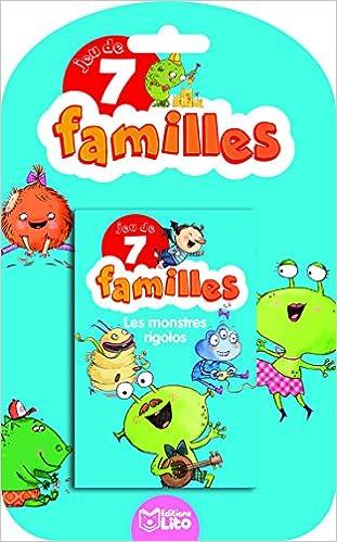 Livres gratuits en ligne Jeux 7 Familles - les monstres rigolos - dès 5 ans pdf