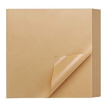 250 mm x 250 mm, envoltorio de sándwich, hoja cuadrada de papel ...