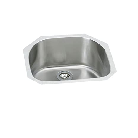 Elkay SPUH2118 Signature Undermount Single Bowl Kitchen Sink Stainless Steel