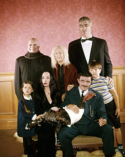 The Addams Family (1964) John Astin Lurch and Cast Tv Cult 16x20 Canvas Giclee