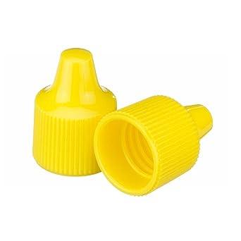 Polyethylene 15 mm Diameter Purple Pack of 100 Wheaton 242427 Tip for 15-415 Screw Cap and 7-15 mL Dropper Bottle