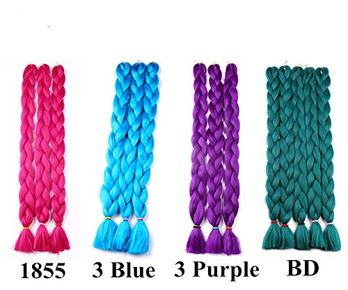 Hair Extensions for Updo Braiding Hair 41inch Human Hair - Human Hair Extensions Braiding