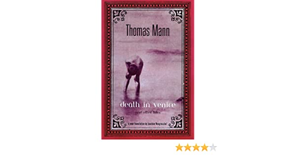 Amazon Death In Venice Other Tales 9780670874248 Thomas