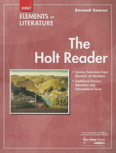 Elements of Literature: Reader Grade 8 Second Course