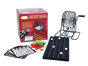 This is an image of Remarkable Travel Bingo Game