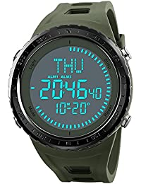 NEW Compass Watch Men's Sports Watches 5ATM Water Proof...