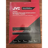 2018 JVC 37 2.1 Channel Bluetooth Streaming Sound Bar with Wireless Subwoofer, Dolby Digital, USB Input, Wall Mount, Black