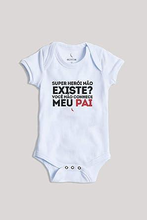 d6a21b3de Body Bebê Super Pai Reserva Mini: Amazon.com.br: Amazon Moda