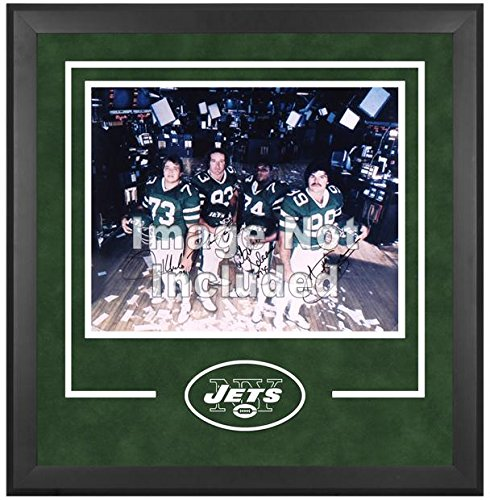New York Jets Deluxe 16x20 Horizontal Photograph Frame by Mounted Memories
