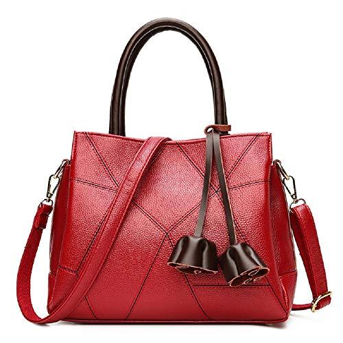 bandoulière Grande bandoulière à capacité Nouveau Bag Sac Sacs ZHRUI Rouge à Messenger x18ztAWqw6