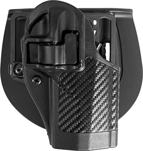 BLACKHAWK! Serpa CQC Carbon Fiber Appliqué Finish Concealment Holster, Size 28, Right Hand, (Beretta Storm PX-4)