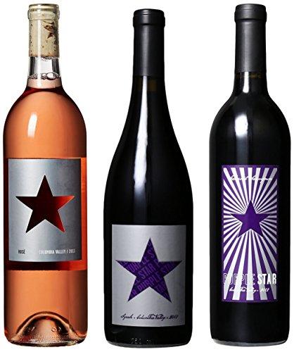 "Purple Star ""Taste of Washington"" Syrah, Rose & Cab II Mixed Pack, 3 x 750 mL"