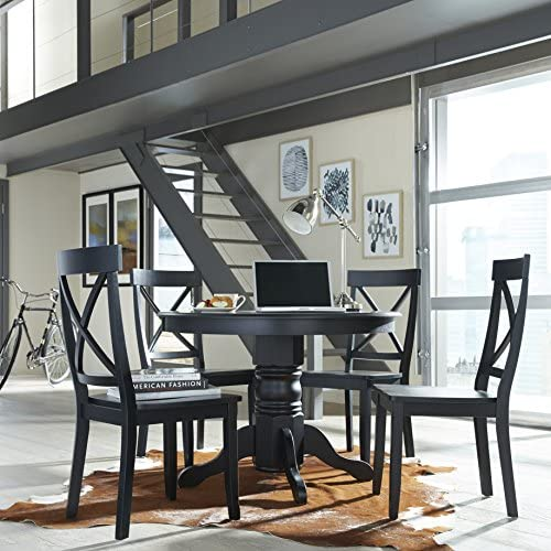 home, kitchen, furniture, kitchen, dining room furniture,  tables 1 discount Classic Black 42
