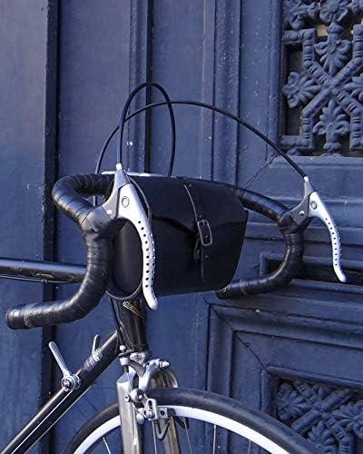 Gusti Sacoche pour Selle de V/élo Bicyclette Marianne V Doublure Imperm/éable Vintage Unisexe Cuir Marron
