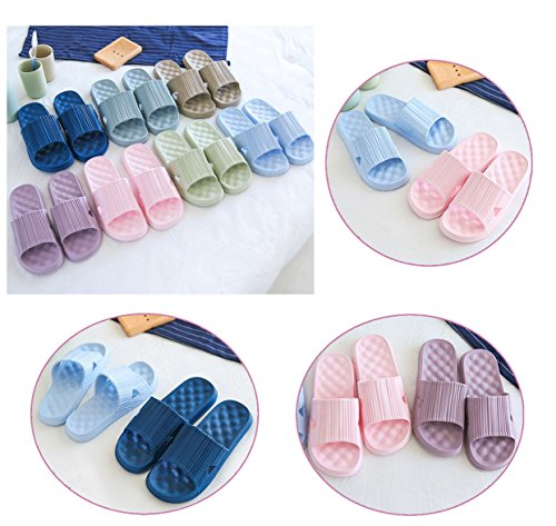 Outdoor Slipper Bath Men Sandal Slip Indoor Sandals Soft and Light Shower Slippers blue Non Home Bathroom Women qSrwPgRS